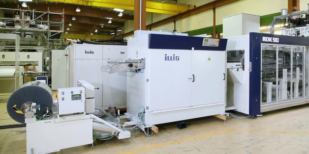 Un site de production de 2000 m2 dédié au thermoformage fine épaisseur